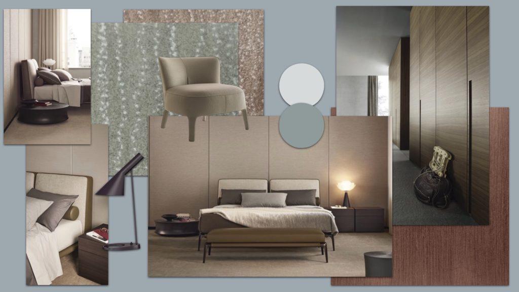 Poliform made in Italia Interior Design Einrichtungskonzept Louis Poulsen Arne Jacobson Tischlampe