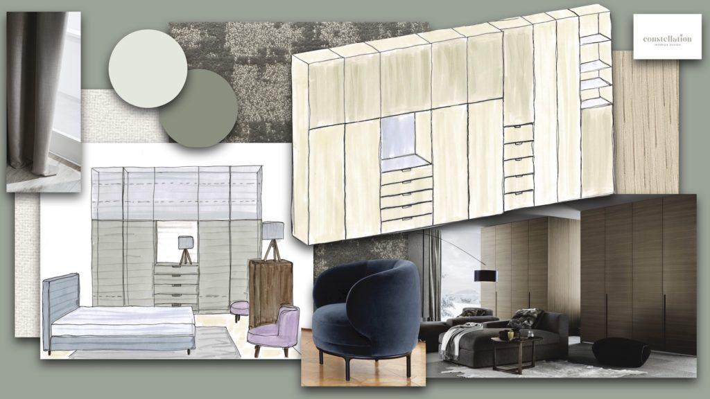 #Farbberatung#Einrichtungsberatung#Schlafzimmer#Poliform#Wittmann
