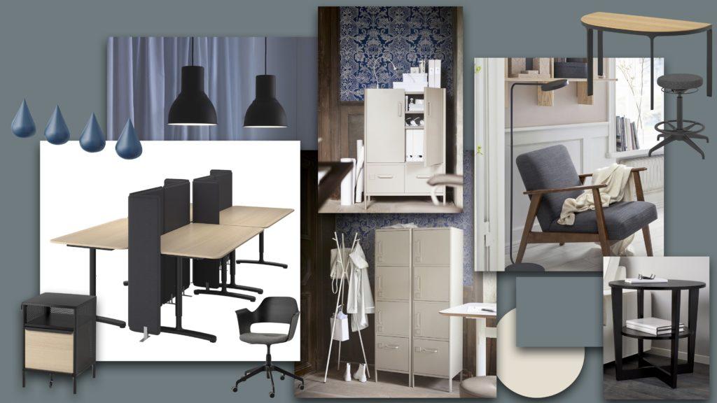 Ikea Einkaufsliste Moodboard Interior Design Office Star up