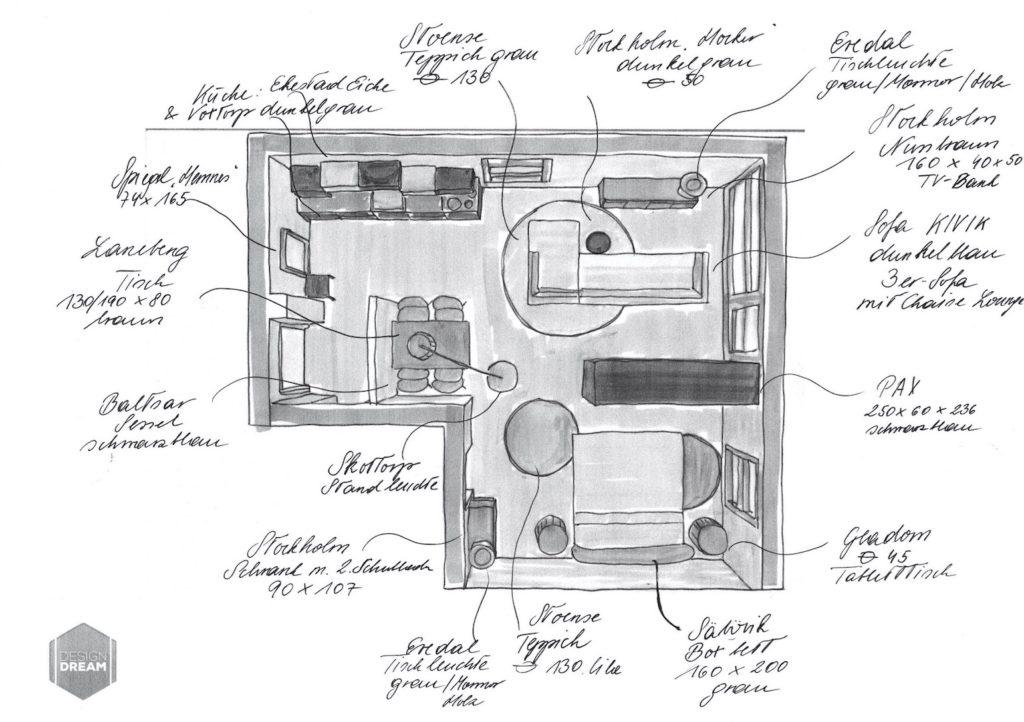 Dream Design Musterwohnung Einrichtungskonzept