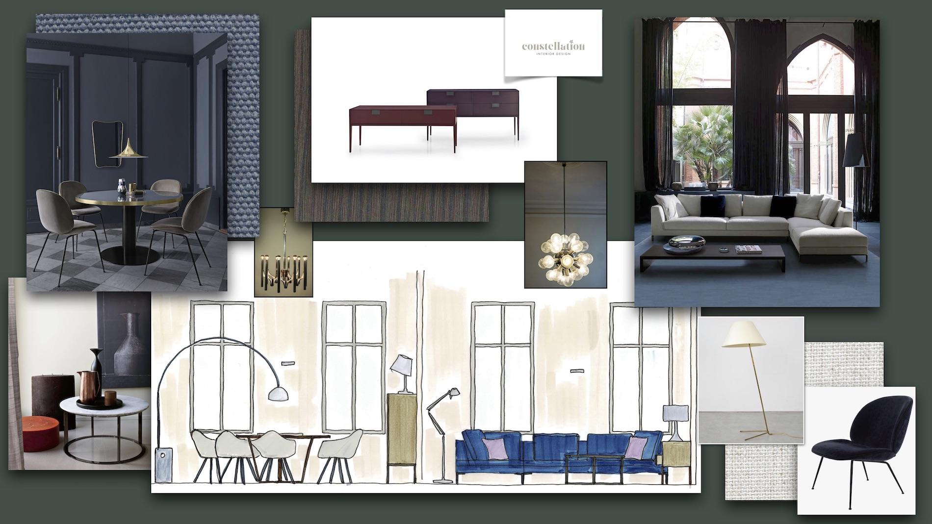 Living Room Wohnzimmer Einrichtung Vorschlag